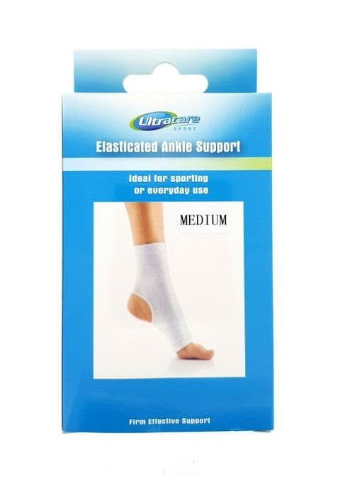 Ultracare Sport - Elasticated Ankle Support - 3 Sizes